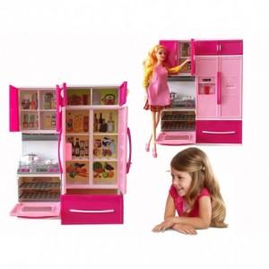 Mini cuisine avec des effets de lumière et de sons - modernes avec beaucoup d'accessoires - Ma cuisine merveilleuse 101788