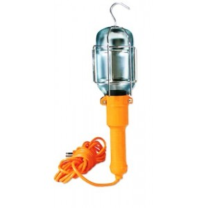 Lampe d'atelier - Baladeuse avec 10 mètres de câble 220v