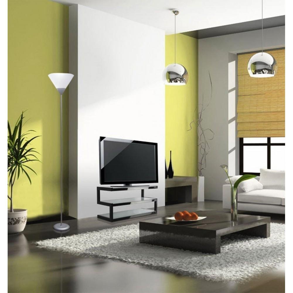 lampadaire lampe 178 cm design moderne avec abat jour en. Black Bedroom Furniture Sets. Home Design Ideas