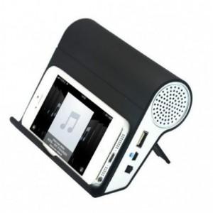 Haut-parleur acoustique wifi - compatible avec nokia samsung apple