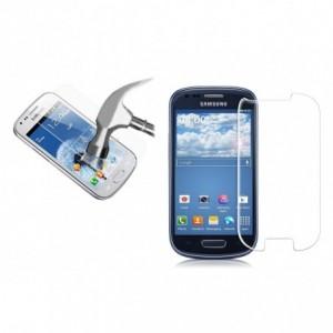 Film protecteur - protection écran téléphone en verre trempé transparent protège des chocs et des chutes - samsung S3