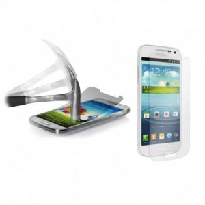 Film protecteur - protection écran téléphone en verre trempé transparent protège des chocs et des chutes - SAMSUNG S4