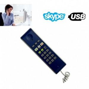 Téléphone VoIP USB compatible avec Skype pour des appeler vos amis gratuitement