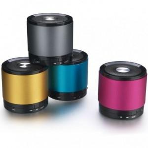 Haut-parleur avec prise d'entrée jack micro sd et Bluetooth 3w - Diam 7 cm