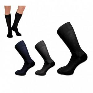Pack de 6 ou 12 paires de chaussettes - homme - différentes couleurs - taille unique