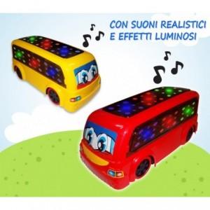 Jouet - bus RUDY - change de direction si elle constate des obstacles émet sons et lumières 100005
