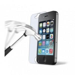 Film protecteur - protection écran téléphone en verre trempé transparent protège des chocs et des chutes - IPHONE 4, 4S