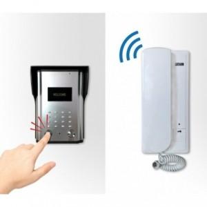 Interphone Duplex - sonnette - câblage 4 fils avec 2 disques internes et 1 externe