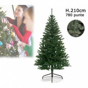 Arbre de Noël artificiel avec 780 branches de 210 cm - Sapin de Noël