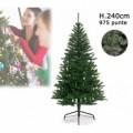 Arbre de Noël artificiel avec 975 branches de 240 cm - Sapin de Noël