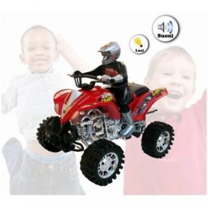 Mini quad - jouet - MAX MOTO-roue avec son et lumière - marcher seul - en deux couleurs 361501