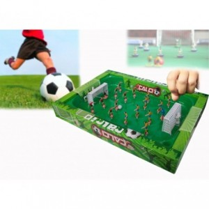 Jeu de football - Match de football portable avec ressorts pour faciliter le déplacement des joueurs