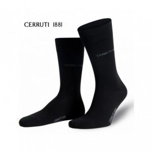 Pack 3 paires de chaussettes longues - CERRUTI 1881 coton et coutures fines - Homme