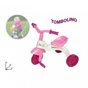 Tricycle enfant - rose ou bleu pour fille et garçon - Tombolino - Idée Cadeau