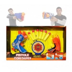 Jeu Enfant - Pistolet - Gun (comprend des balles et la cible) 2608 -