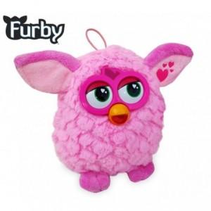 Peluche FURBY rose et fuchsia - jouet d'enfants - garçons et filles