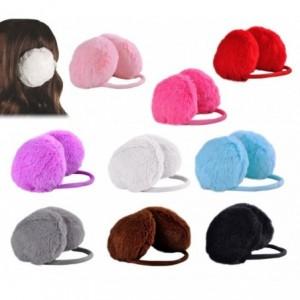 Cache-oreilles en peluche pour enfant - en plusieurs couleurs -Mode Hiver