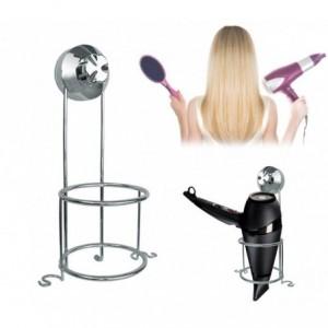 Support pour sèche-cheveux verticale en acier 2746G