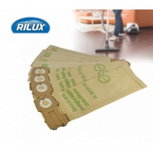 Lot de 3 sacs aspirateur avec filtre en papier compatibles VK120/121/122