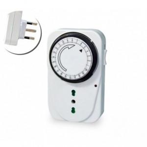 Programmateur - Minuteur - Prise électrique - sortie électrique analogique 16 A 3500 WATT TP3001-1