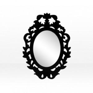 Miroir conception autocollant - sticker - cadre pour les armoires, les entrées et les petits espaces 32 x 23 cm 447205
