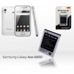 Batterie compatible Samsung Galaxy Ace - MaxTech batterie Li-ion 1350mAh T012