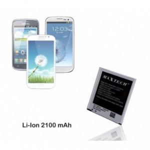Batterie compatible Samsung Galaxy trend 3 i8260 - MaxTech batterie Li-ion 2100mAh T017