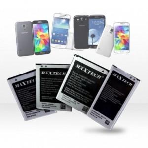 Batterie compatible Samsung Galaxy s4 Mini i9192 - MaxTech batterie Li-ion 1900mAh T011