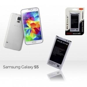 Batterie compatible Samsung Galaxy s5 9600 -MaxTech batterie Li-ion 2800mAh T009
