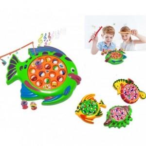 Jeu - Pêche le petit étang à poissons avec 15 poissons et des effets sonores concours de pêche Jeu de société - 366438