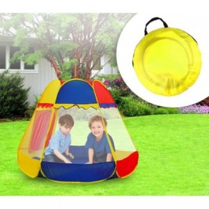 Tente de jardin Enfant- Forme Hexagonale avec 2 fenêtres - LINE GIGIOCHI
