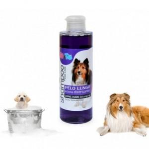 Shampooing pour chien - huile de lavande et panthénol - chien poils longs (200 ml) IO & TE