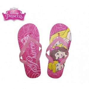 Tong - Sandale Fille Disney Princesses en caoutchouc rose 2301000545