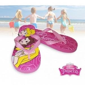 2301000545 - Tong - Sandale Fille Disney Princesses en caoutchouc rose
