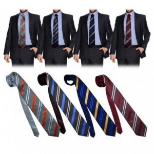 Cravate classique rayures obliques - vêtement homme - PW28