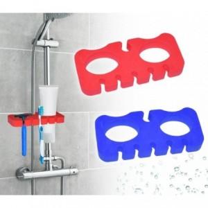 48352 Support de douche - pour brosse et rasoir- porte accessoire - en mousse