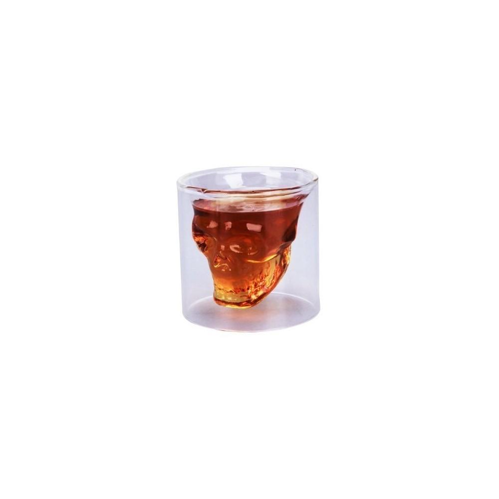 kit 2 verres cr ne tete de mort boisson ap ritif. Black Bedroom Furniture Sets. Home Design Ideas