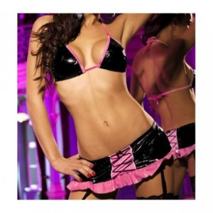 Ensemble sexy - sous vêtement - lingerie sensuelle - mod. ALEXIA- MWS AHEAD