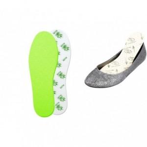 CD11537 - Semelles de chaussures protection antibactérienne Aloe Vera
