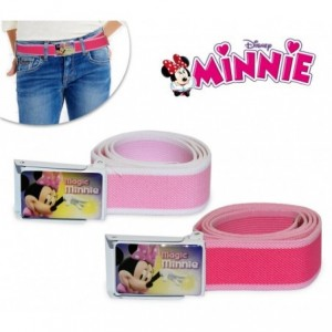 305.882 -Ceinture Enfant - MINNIE MOUSE (75 cm de long)