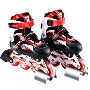 Rollers - réglable de nr. 38-42 chaussures bordées