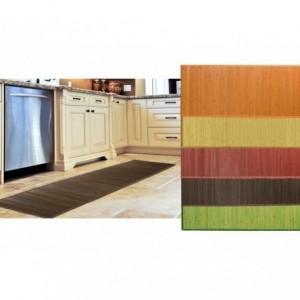 028519 Tapis Bamboo 180 x 55 cm / glisser Base - Home Decor
