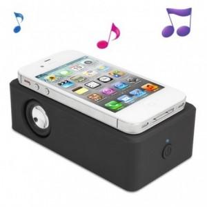 Mini haut parleur pour télephone, MP3, Samsung, Iphone et Ipod