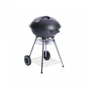 Barbecue avec des roues et couvercle de sécurité (70 x 43 cm)