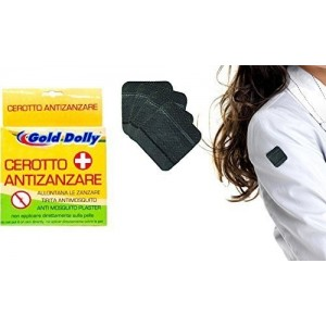 Paquet de 20 patchs qui agissent comme anti-moustique