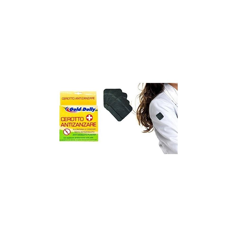 Paquet de 20 patchs qui agissent comme anti-moustique (pour une utilisation sur les vêtements)