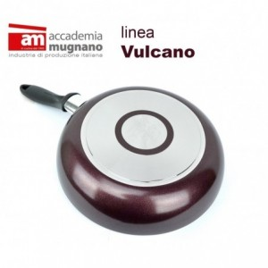 VUSLT28- Poêle à frire anti-adhésive - 28 cm ligne Accademia Mugnano effet pierre Vulcano