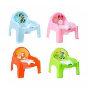 091.103 - Pot en plastique enfants - en quatre couleurs