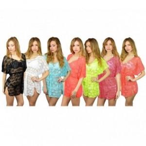 A01 robe à franges pour la plage Mod.Elodie (effet floral)