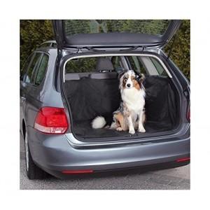 Bâche protectrice - Boîtier étanche pour l'intérieur de la voiture (145 x 145 cm) de couleur noire -